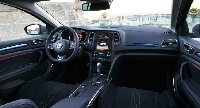 Renault Mégane GT interieur