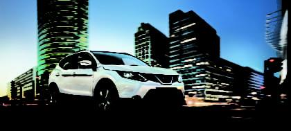 Bekijk de Nissan Qashqai