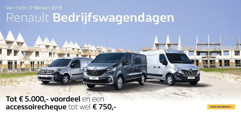 Renault Nieuwendijk Bedrijfswagendagen