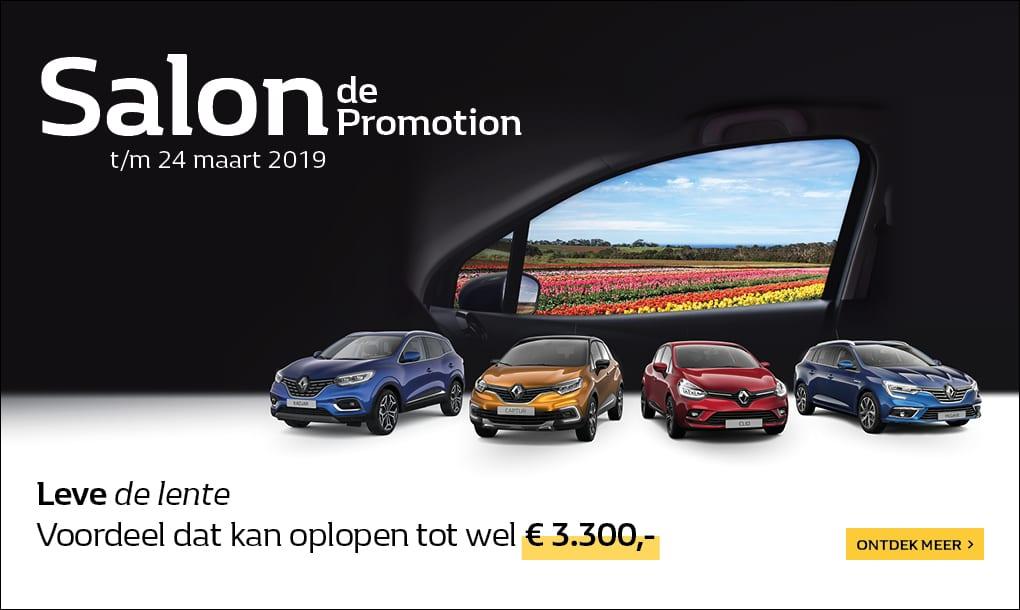 Salon de Promotion bij Nieuwendijk