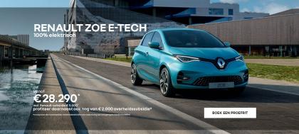 Bekijk de Renault ZOE E-Tech Electric